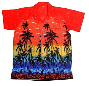 camisa hawaiana caballero