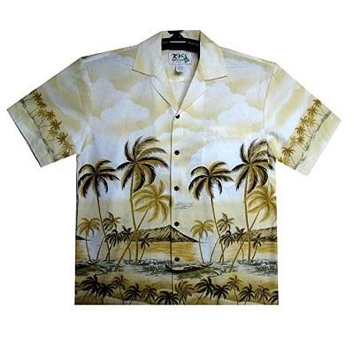 camisa hawaiana de marca para hombre