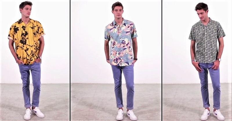 como usar camisa hawaiana